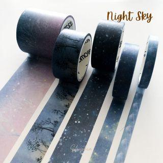 Starry Night Washi Tape Collection