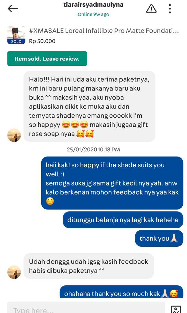 Testimoni for Shop at Papipo✨
