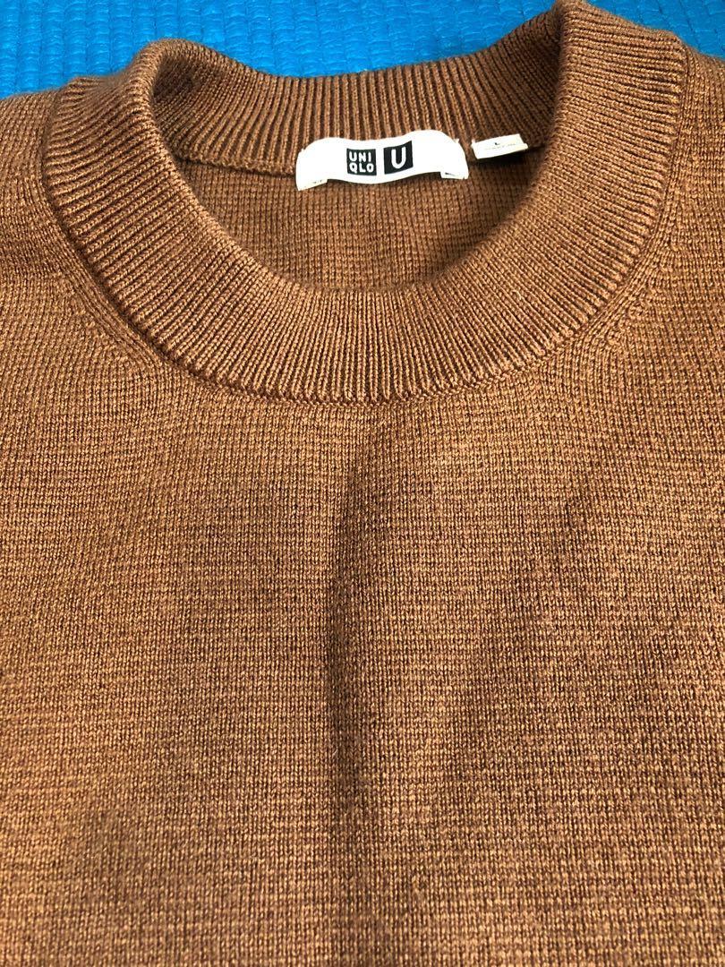 Uniqlo u 米蘭螺紋 針織衣