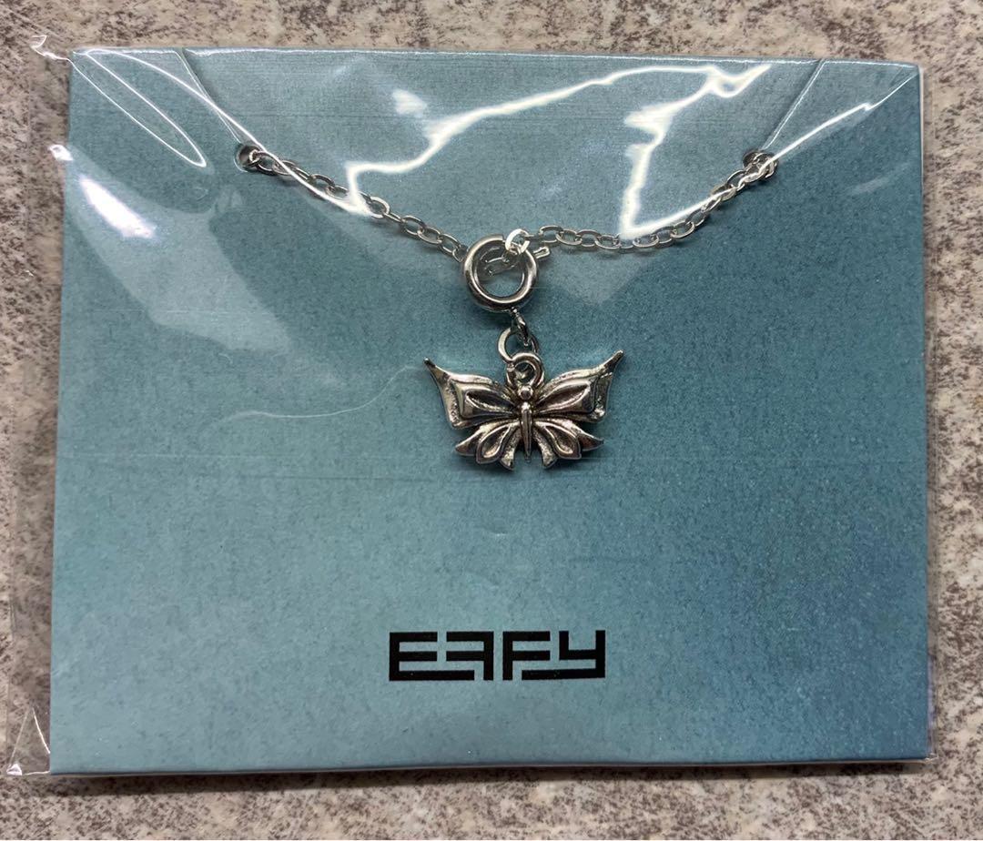 Women's Butterfly Effy Necklace