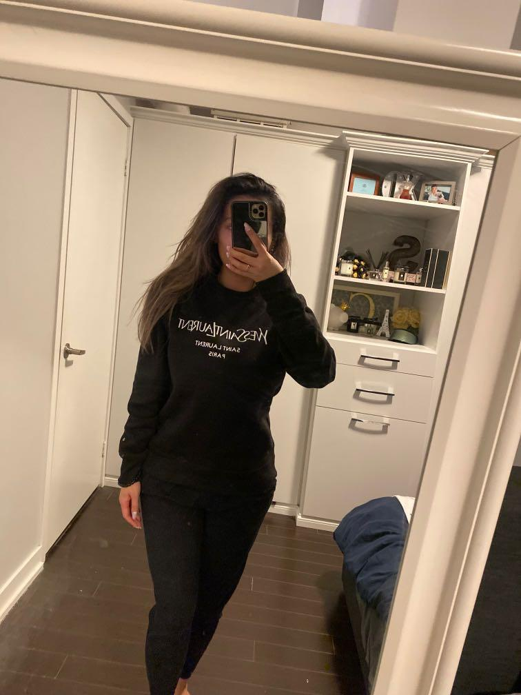 YSL inspired sweat shirt. Size small/Med