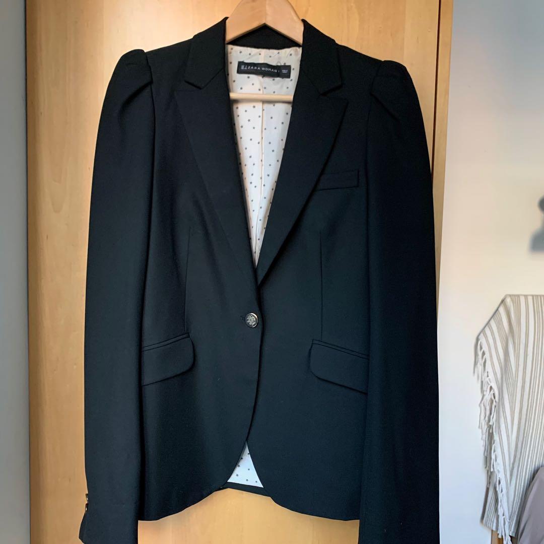 Zara Women's black blazer size small