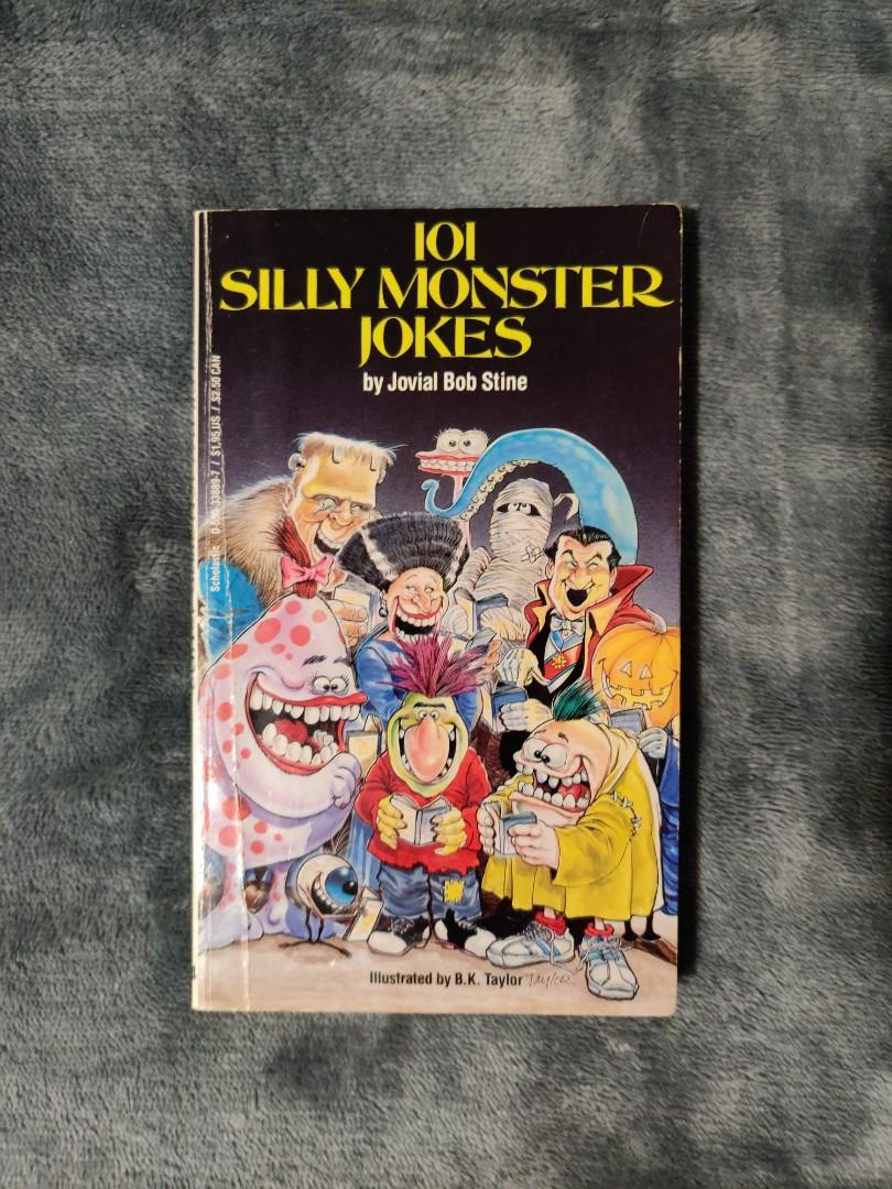 101 Silly Monster Jokes by Jovial Bob Stine