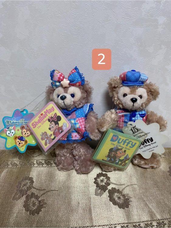 2隻🧸送迪士尼袋子稀有絕版#年終
