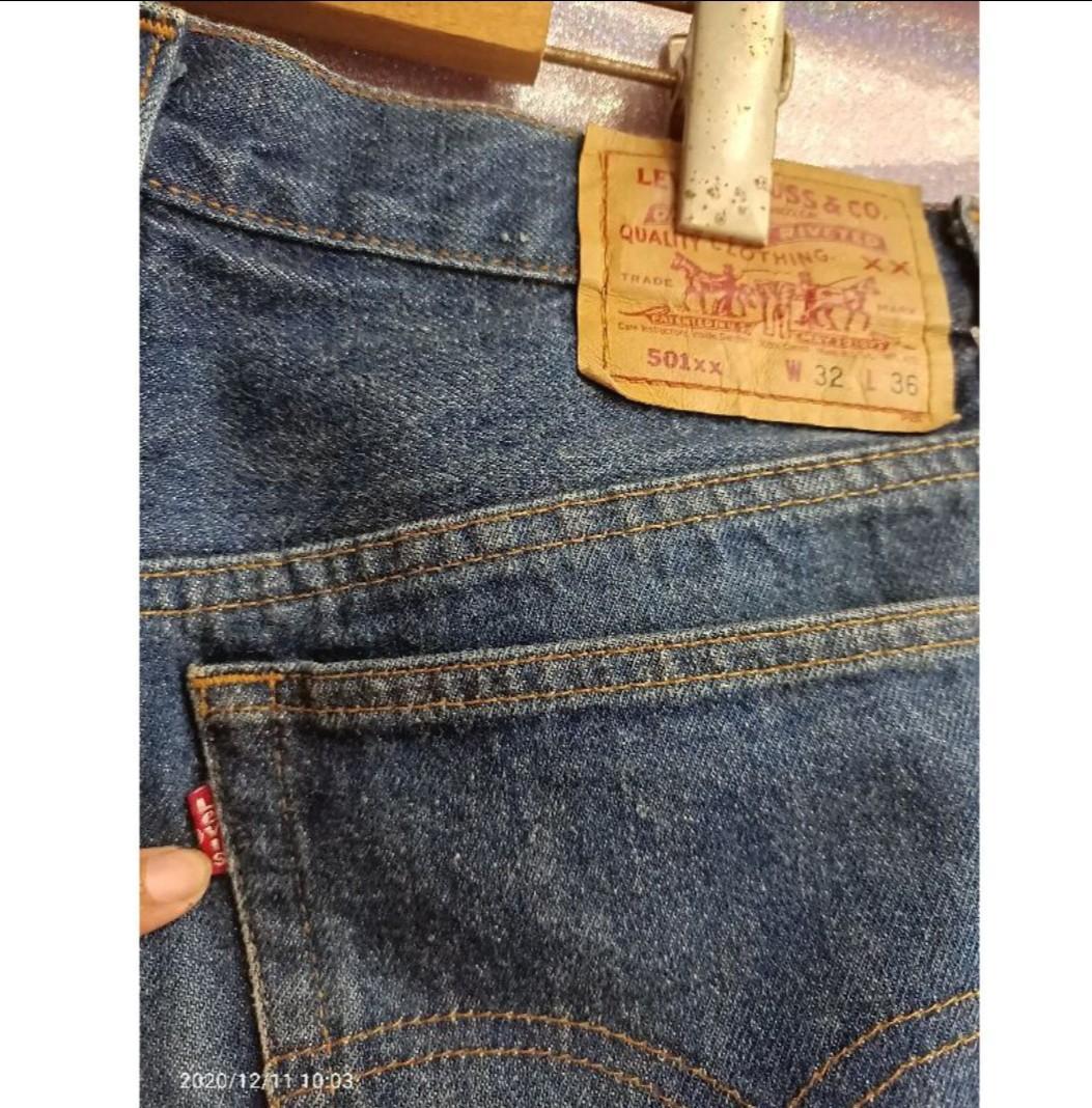 32偏小古著牛仔褲 #Levis501xx #美製 重磅 #橘7