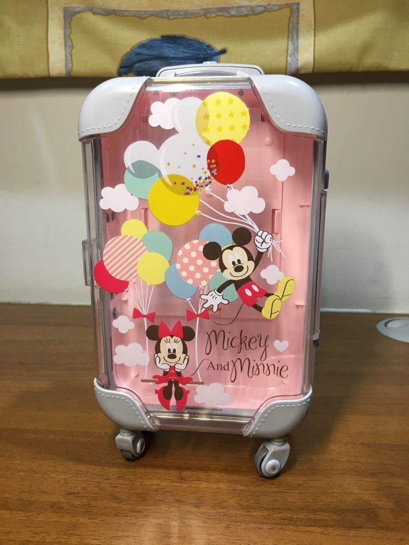迪士尼行李箱造型硬殼收納包
