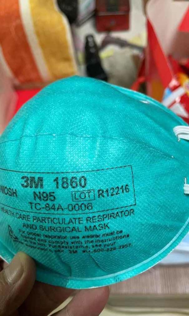 3M 1860 USA atau Singapore isi 20 pcs