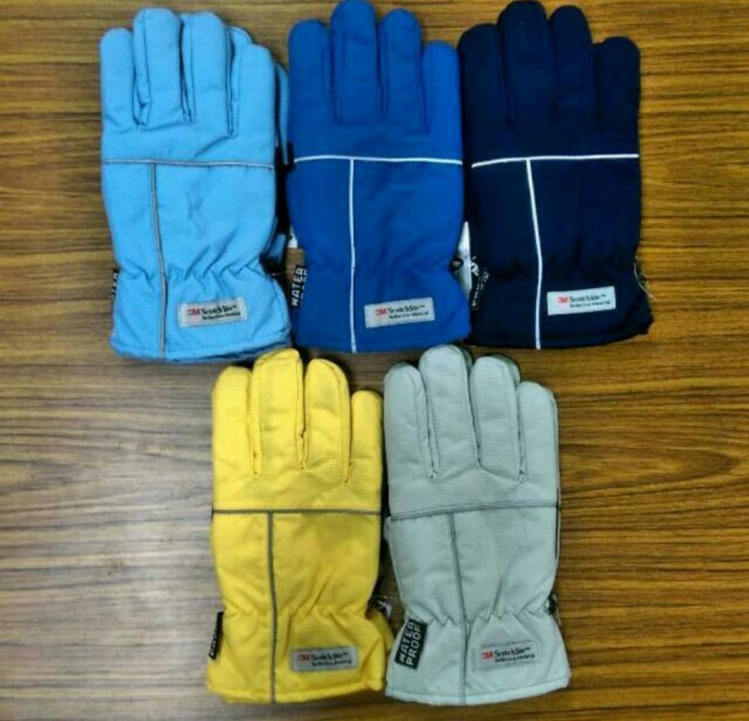 3M頂級防風 防寒 防水 機車手套