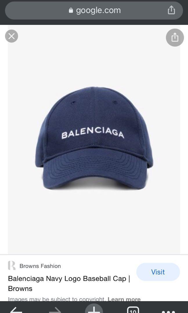 巴黎世家棒球帽