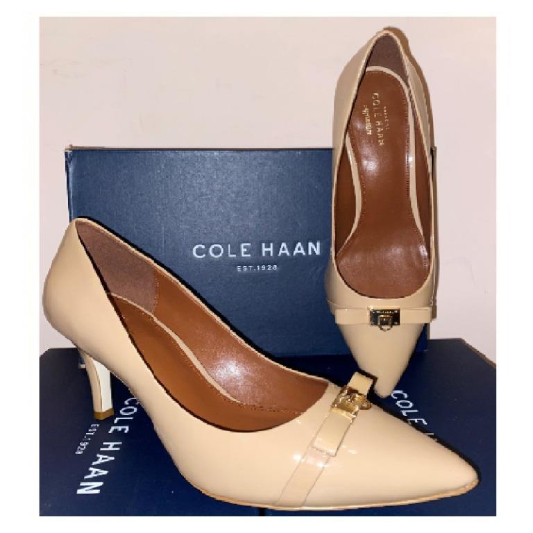正品/二手 Cole Haan JULIANA 高跟鞋 膚色