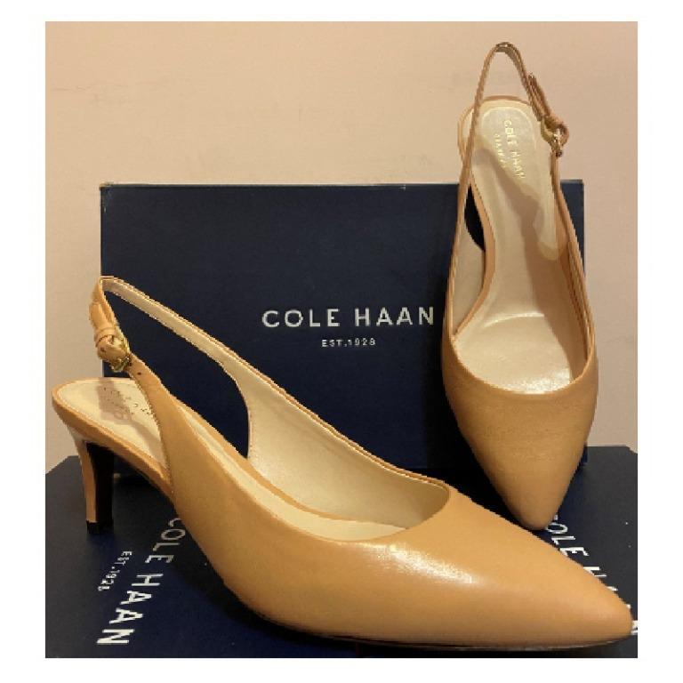 正品/全新  Cole Haan MEDORA 高跟鞋 膚色