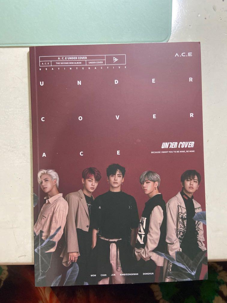 ACE A.C.E Undercover 2nd mini album + official poster (Album Only)