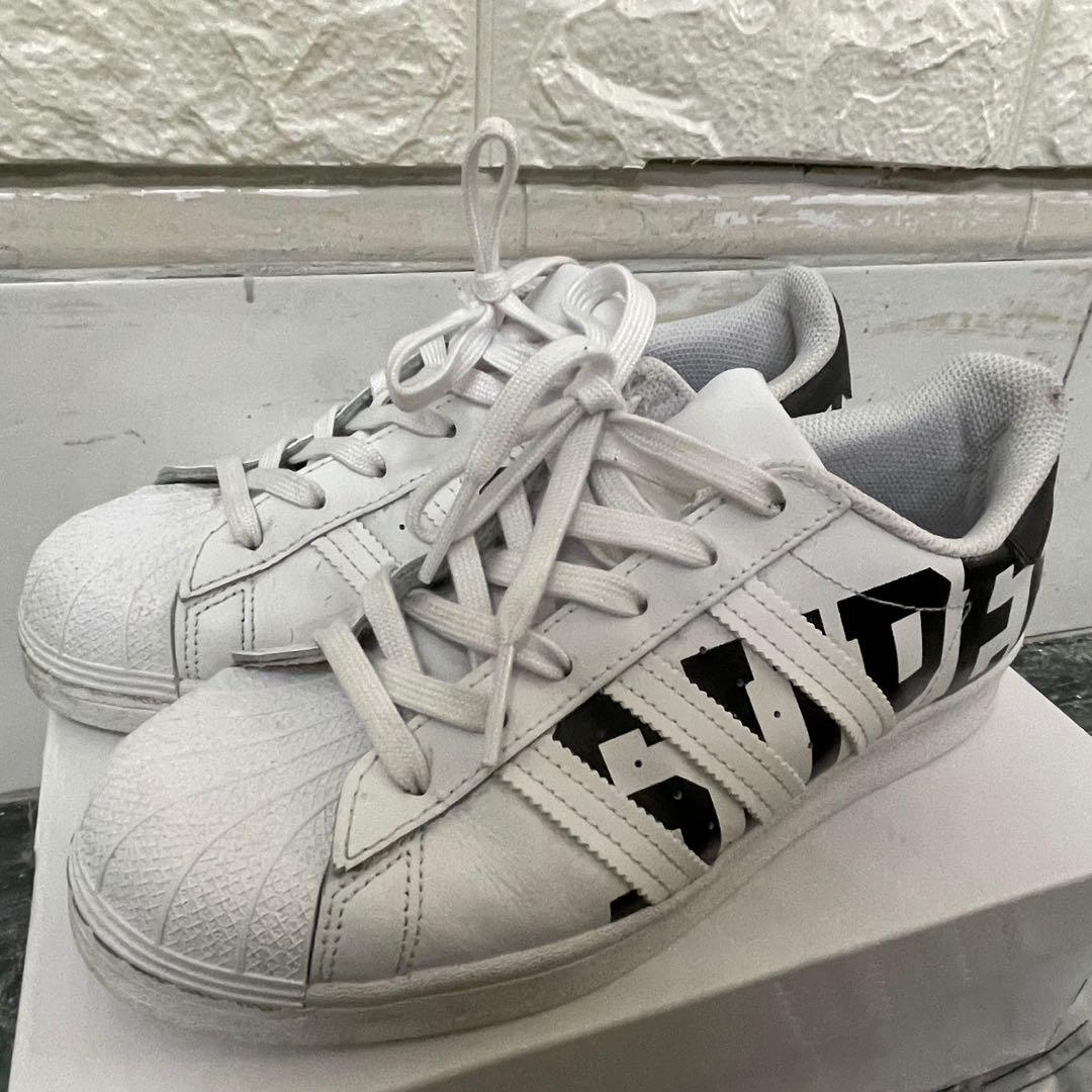 adidas Superstar 字母反光三線