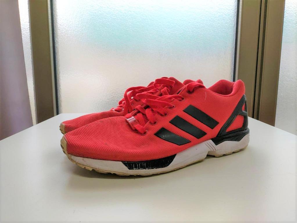 Adidas ZX Flux 紅 US8.5 26.5cm