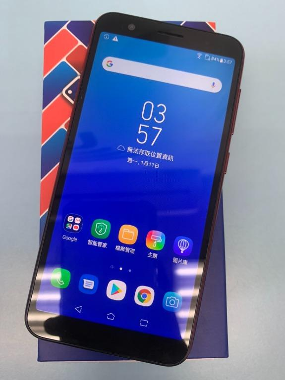 ASUS ZenFone Live ZA550KL 16G 5.5吋 紅 #二手機 #漢口店 54043