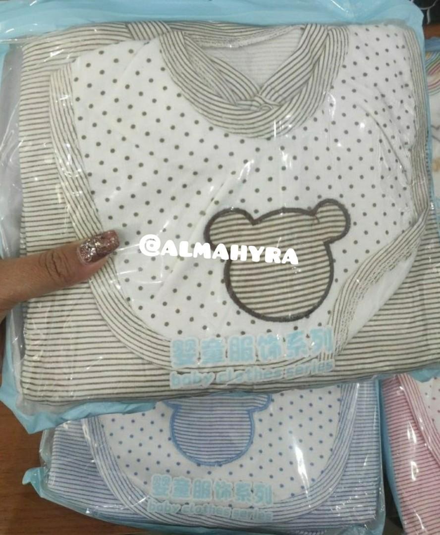 Baju bayi bowborn 8 in 1