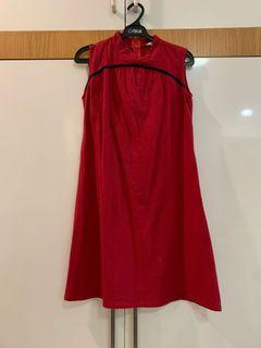Beatrice Clothing Red Cheongsam Dress for Kids Anak