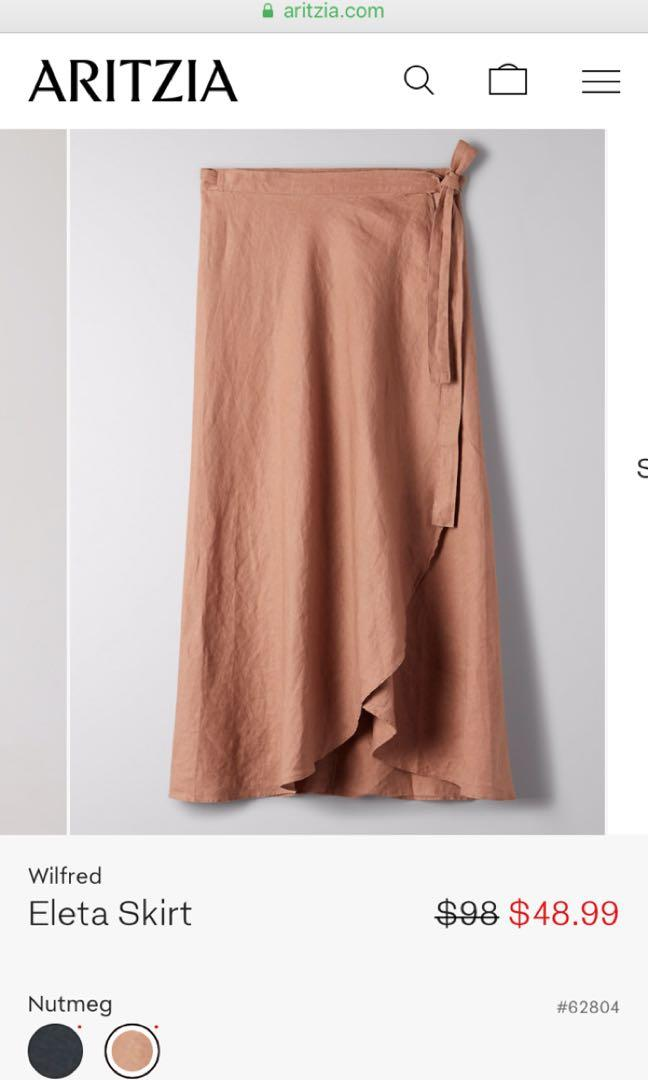 BNWT Wilfred Eleta Skirt
