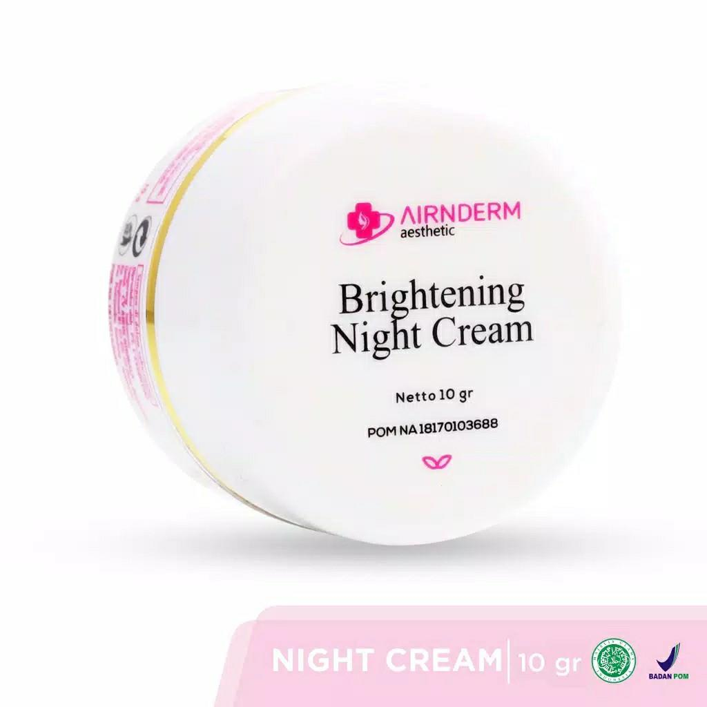Brightening night cream airin
