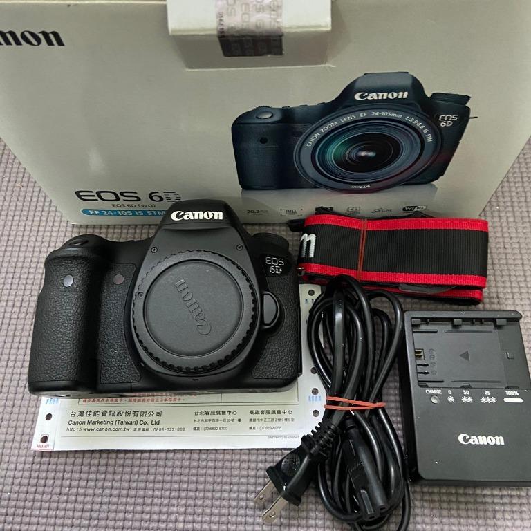 Canon 6D 公司貨 shutter 18xxx