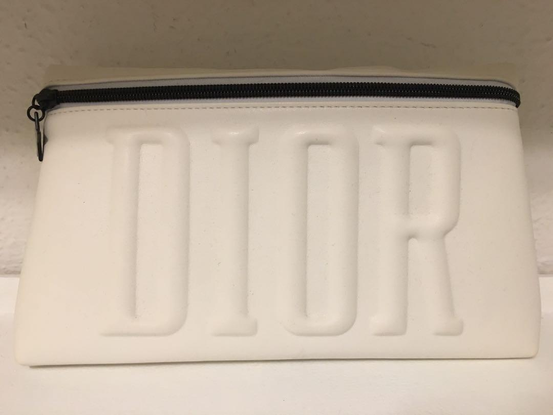 Dior purse/makeup bag