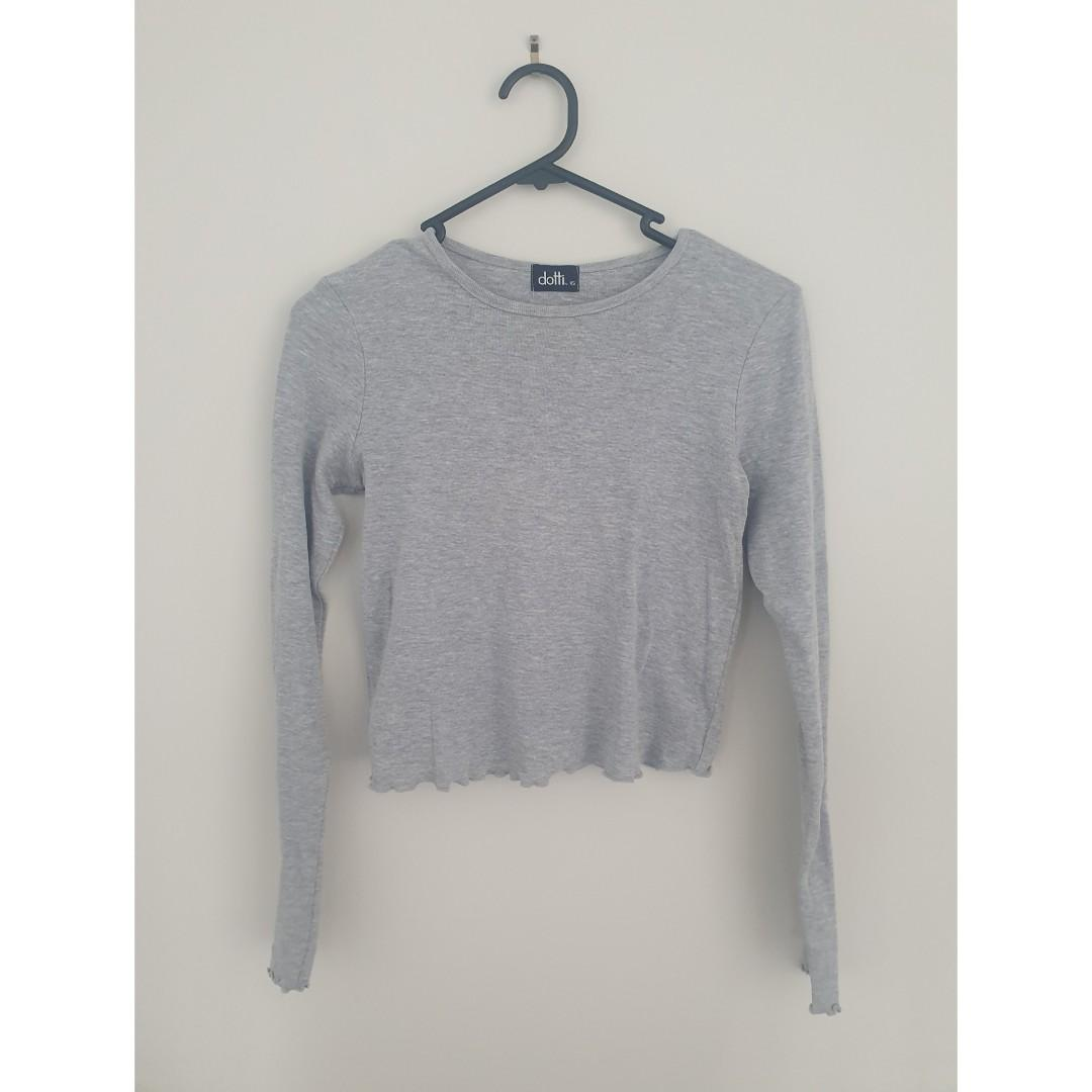 Dotti Crop Long Sleeve