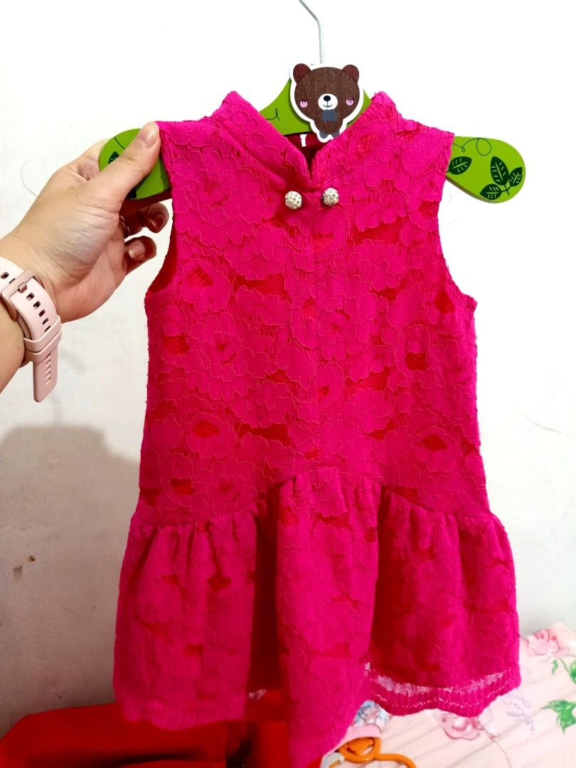 Dress imlek anak 1-2 th