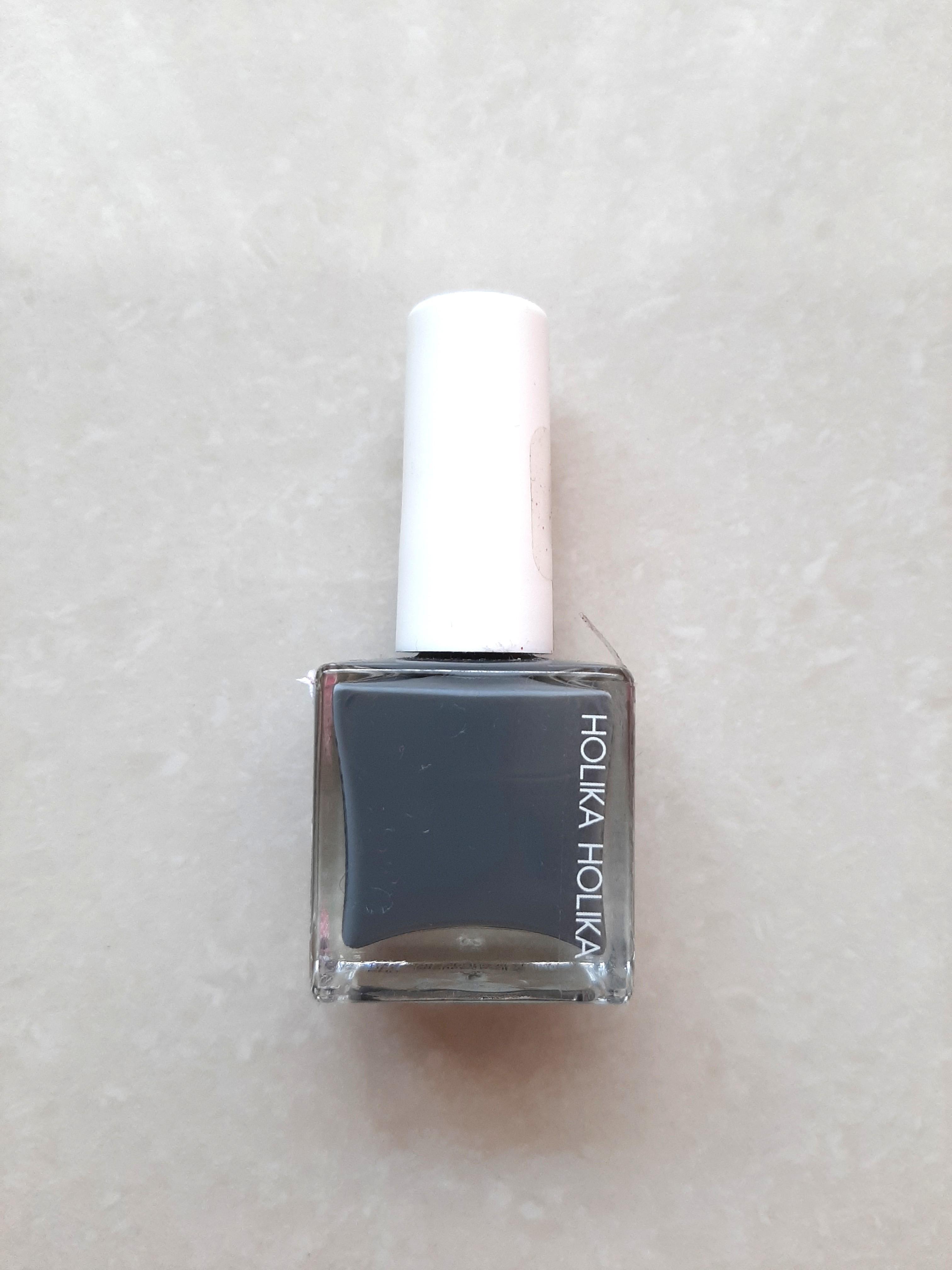 Holika holika GY02 nail polish kutek abu-abu