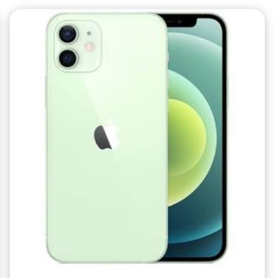 全新未拆 iPhone 12 128 128G 稀有蘋果綠