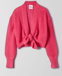 Little Moon Campari Sweater (aritzia)