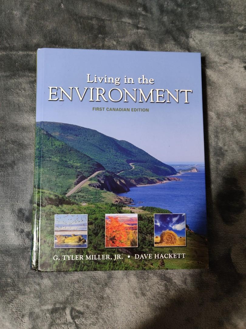 Living in the Environment First Canadian Edition