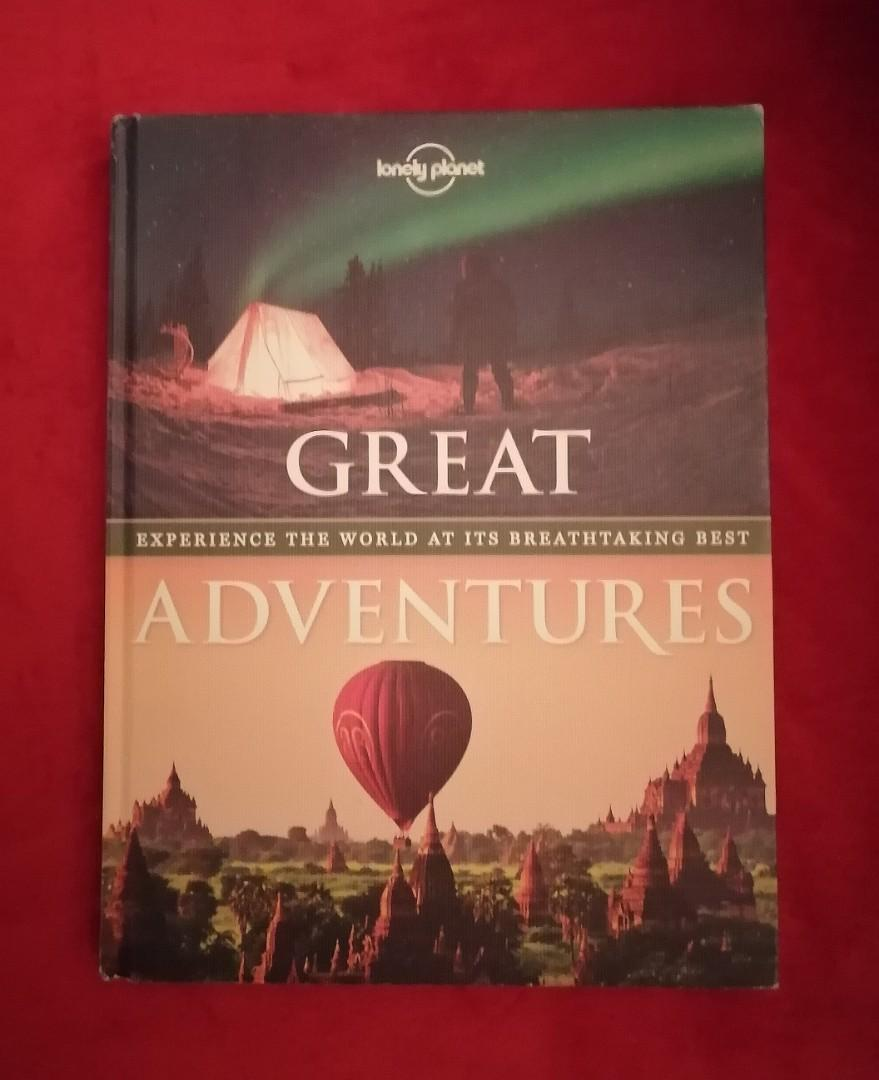 Lonely Planet: Great Adventures Coffee Table Book