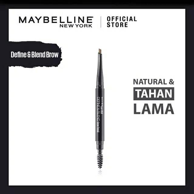 Maybelline Define and Blend Brow Pencil - Natural Brown