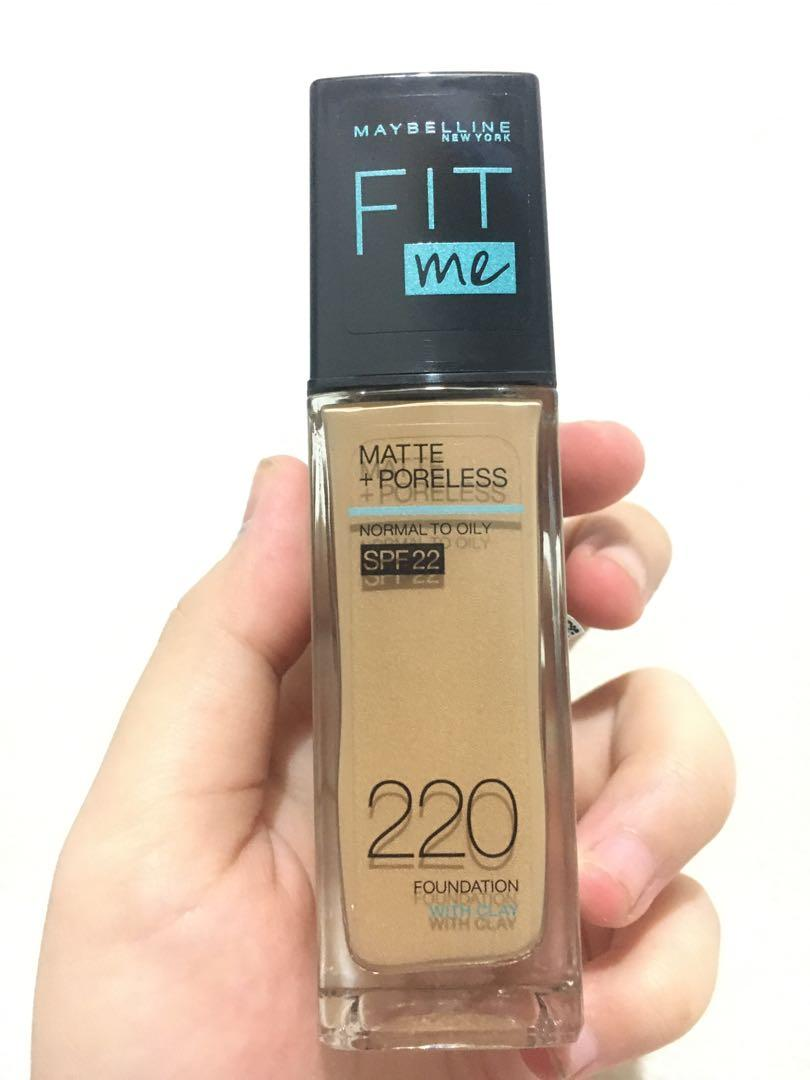 MAYBELLINE FIT ME (FOUNDATION)