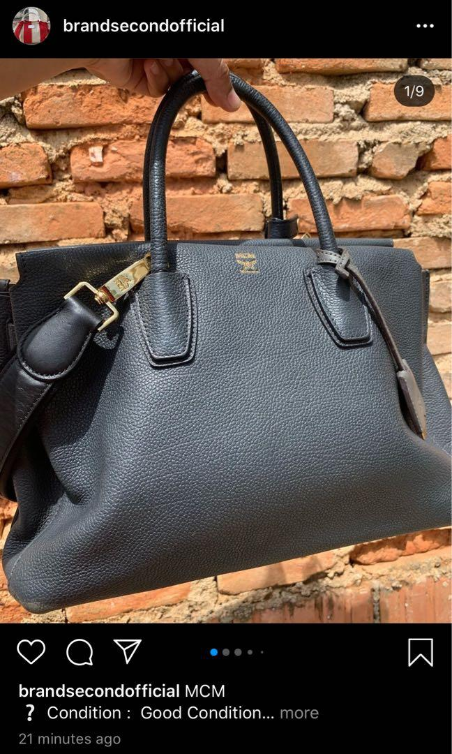 Mcm Satchel Bag