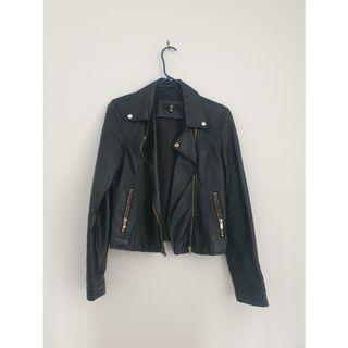 Missguided Faux Leather Jacket