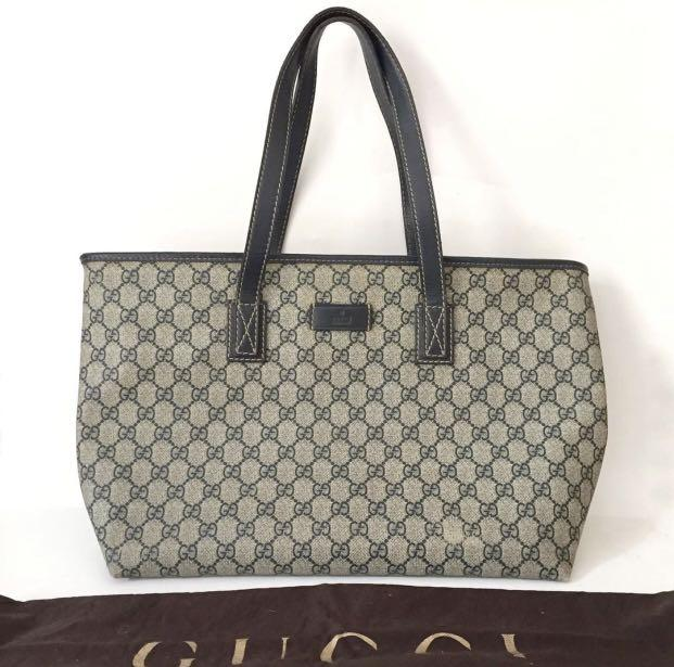 NETT Authentic Gucci Tote Bag Waterproof Canvas