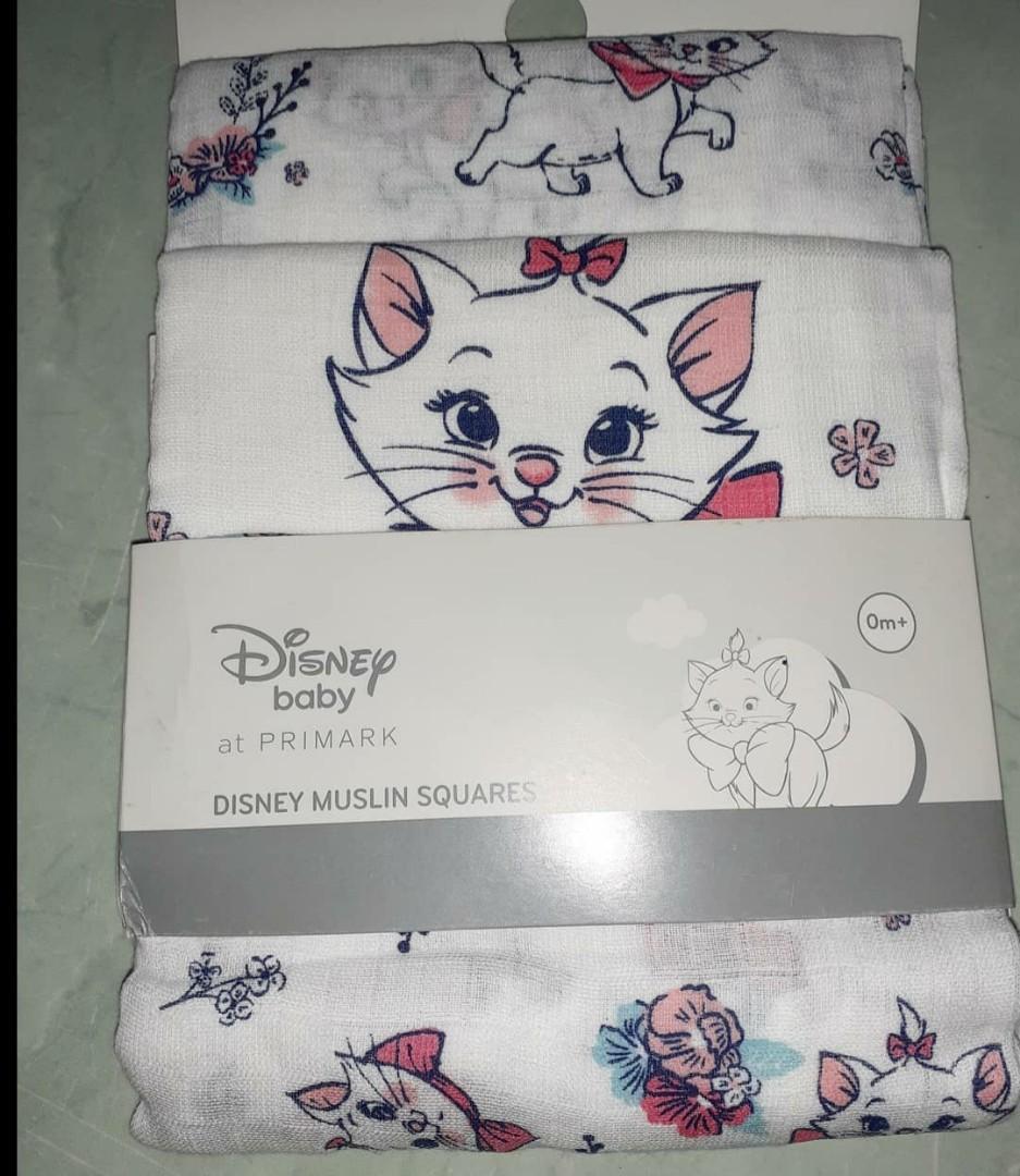 Original Primark X Disney Marie Cat Muslin Squares
