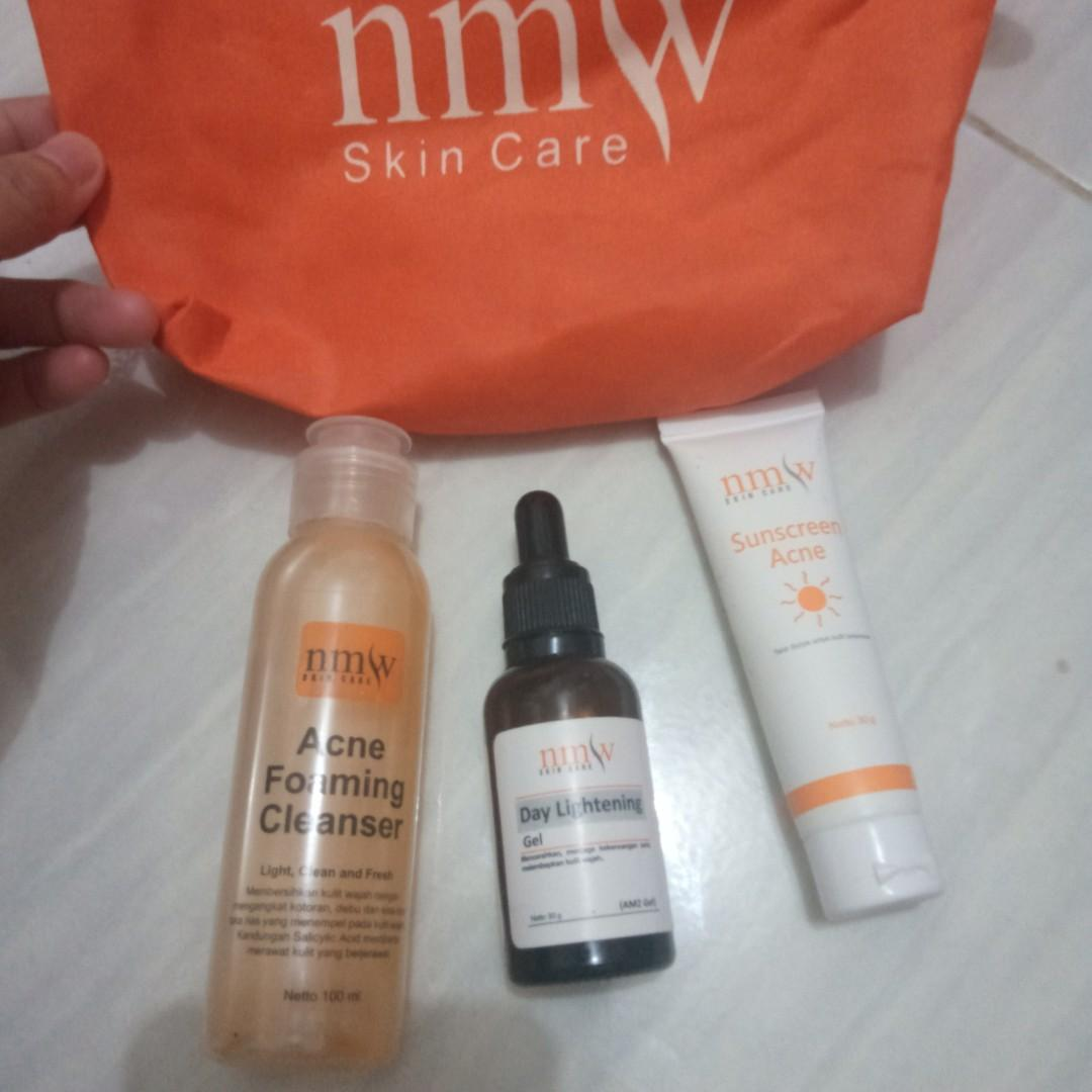 Paket glow NMW include Pouch