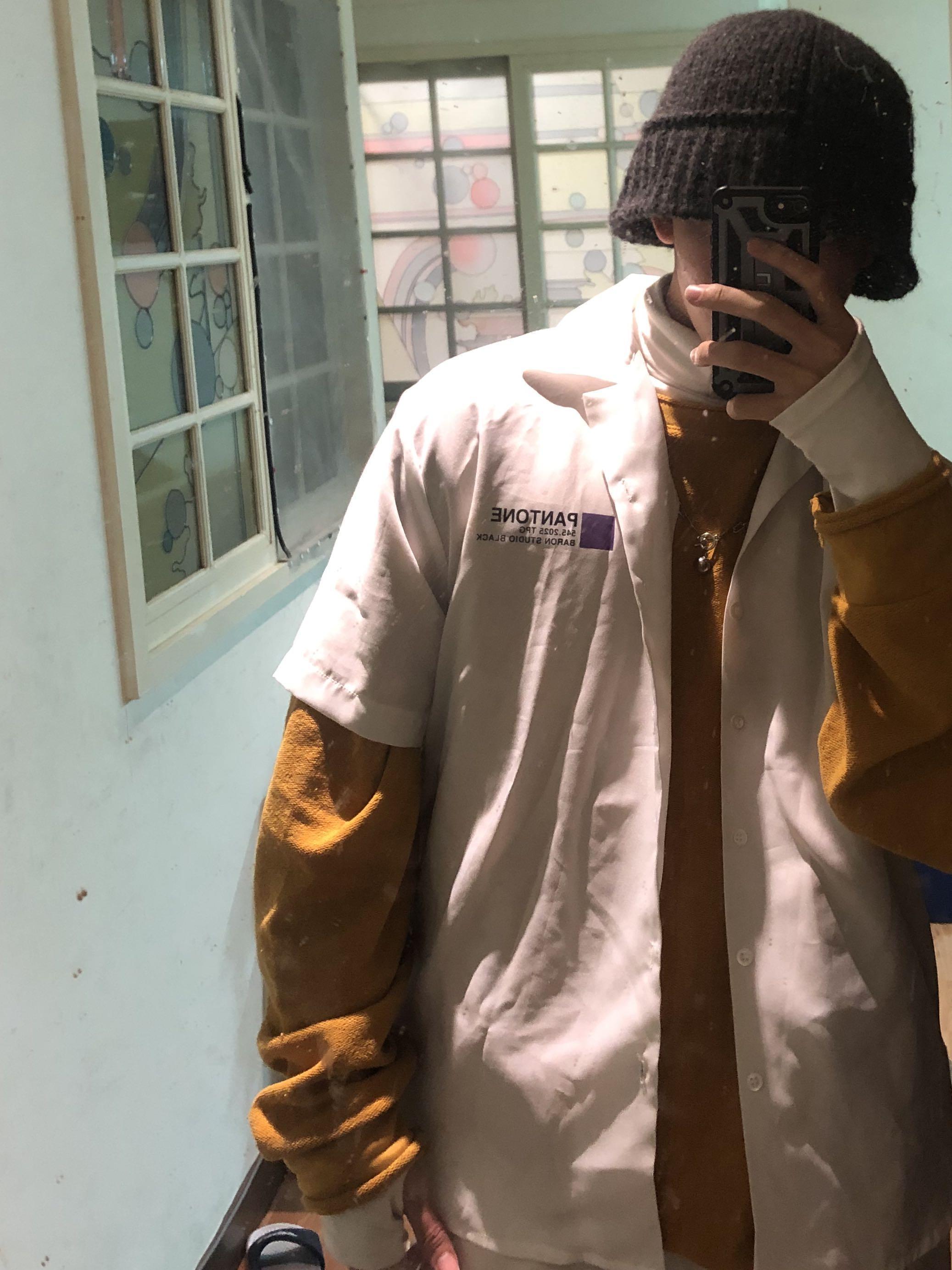 雪紡短袖襯衫Pantone
