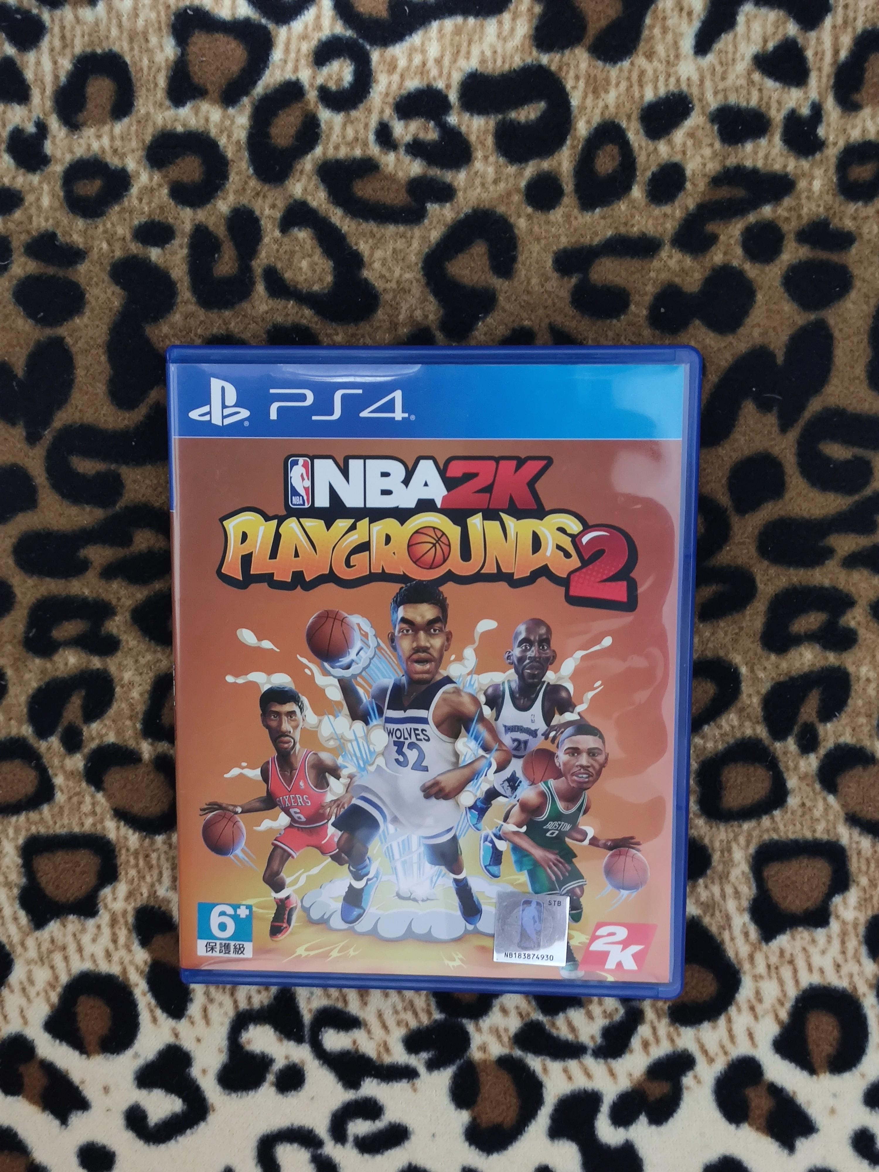 二手 PS4 NBA 2K 熱血街球場 2 Playgrounds 2 中文版