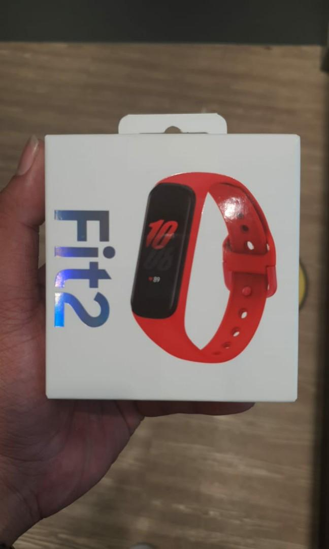 Samsung Galaxy Fit 2 - Red Rubber