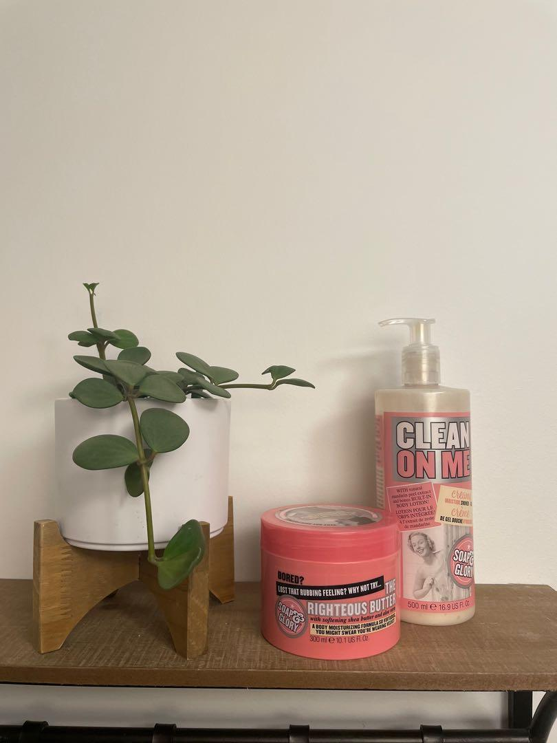 Soap and glory lotion & body wash