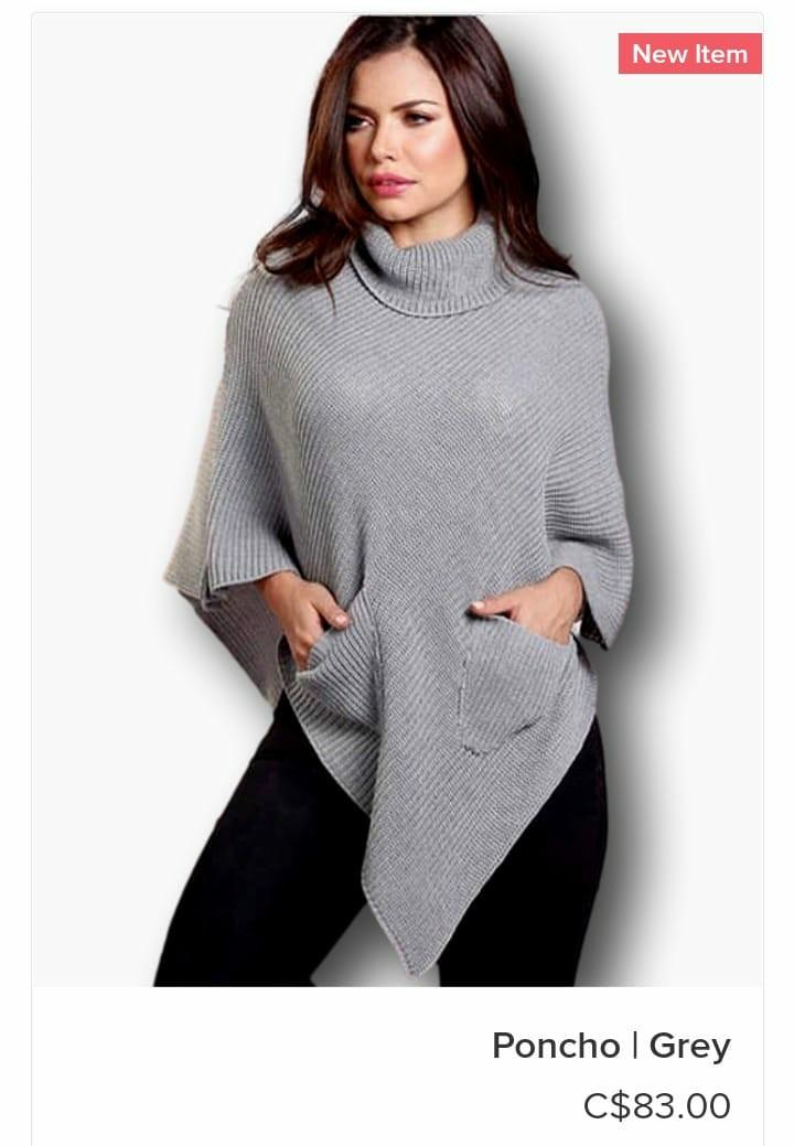 Stylish Wool Warm  Ponchos. FREE SHIPPING!!!