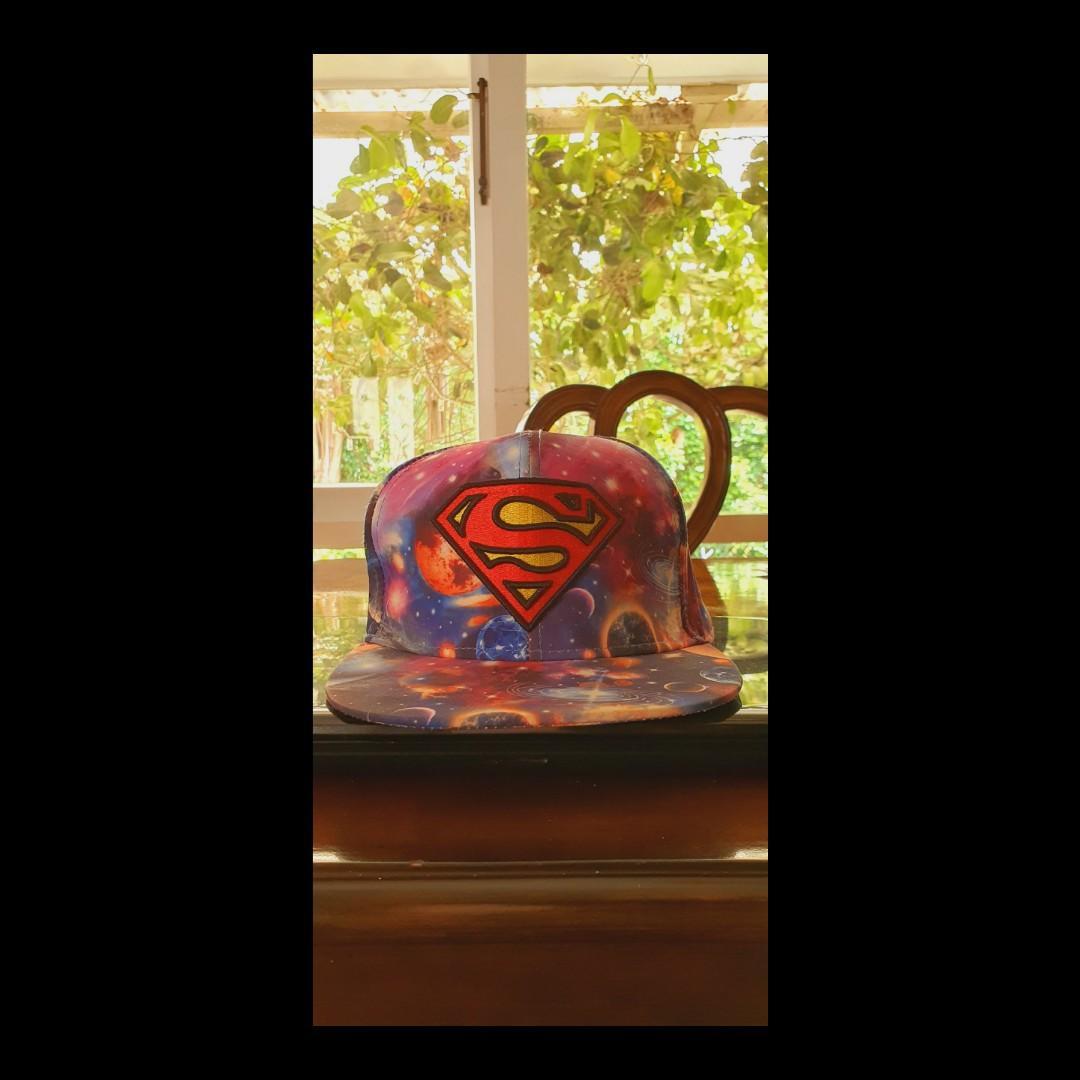 Superman Galaxy Snapback - multicoloured