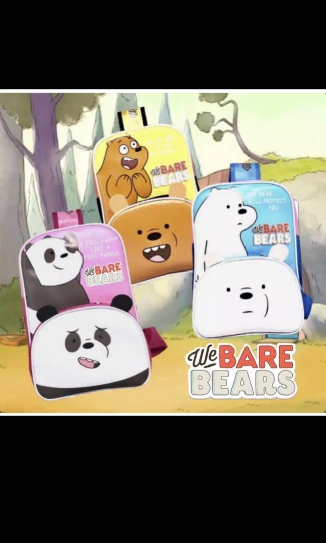 Tas Bare Bears / Tas Selempang Bare Bears / Tas Selempang Anak / Tas Anak Murah