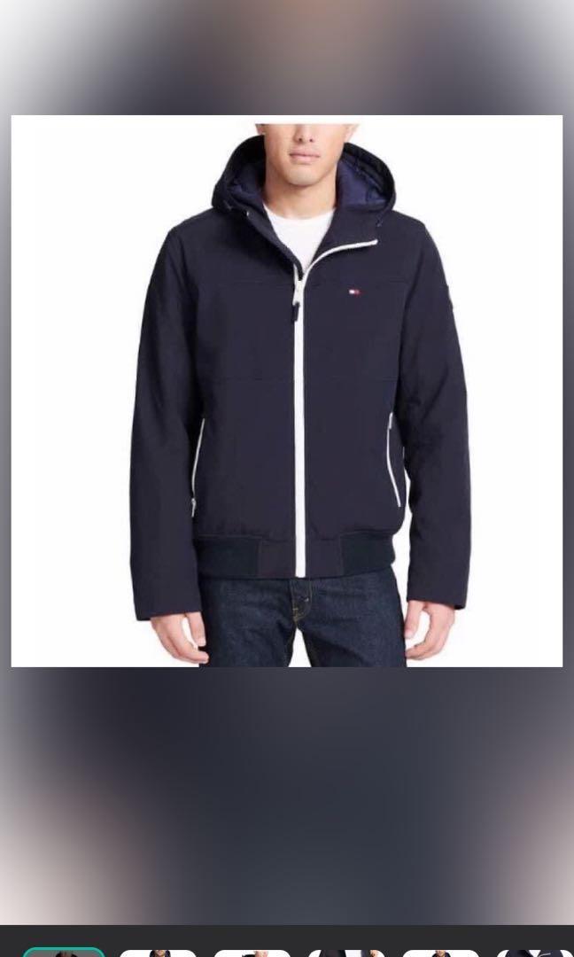 Tommy 外套 M藍色 衝鋒外套