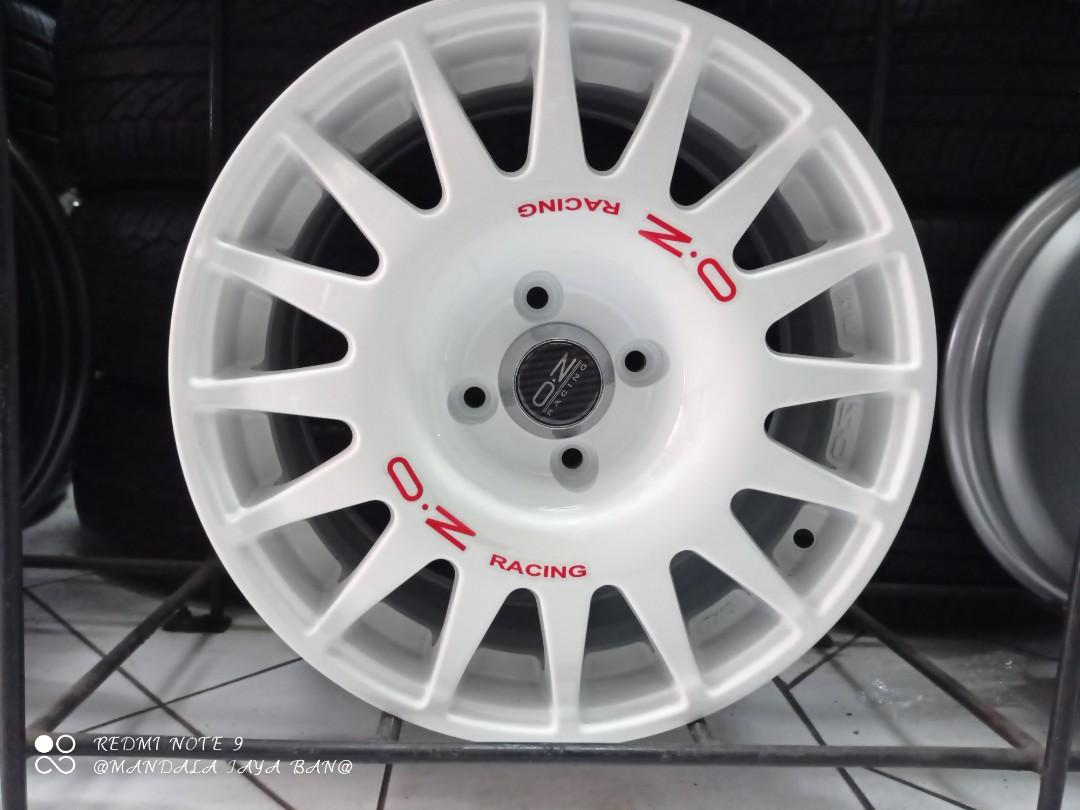 Velg OZ ring 15x7 PCD 4x100 white