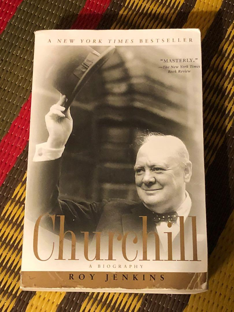Winston Churchill biography by Roy Jenkins