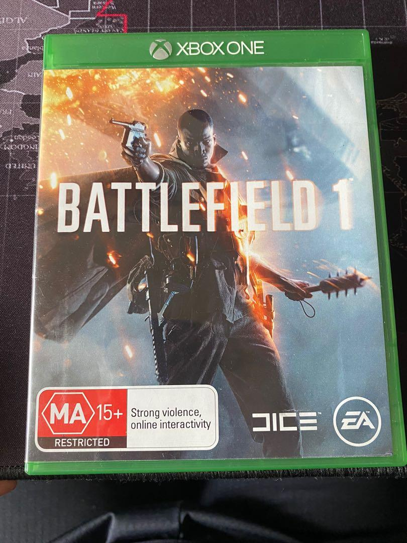 Xbox One 英文版 戰地風雲1 Battlefield 1